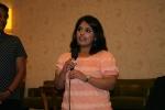 Nadine Sadiq Ali accepts her HIMSS NCA Scholarship Award at the chapter's meeting on May 17, 2012.